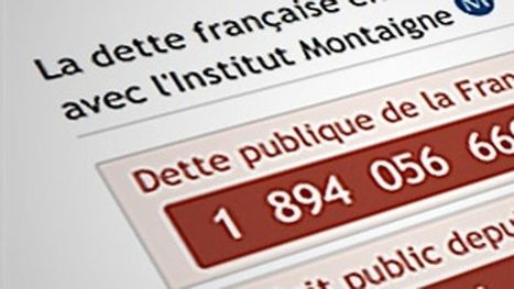 Suivez en direct l'évolution de la dette de la France | Actualité en France et en Italie | Scoop.it