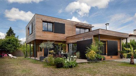 Maisons Durables : une maison bois de constructeur, mais personnalisable   décoration & déco   Scoop.it