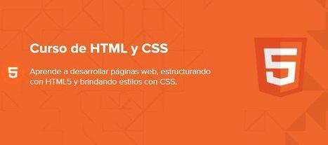 Nuevo curso online gratuito de HTML y CSS, en español | El Mundo del Diseño Gráfico | Scoop.it