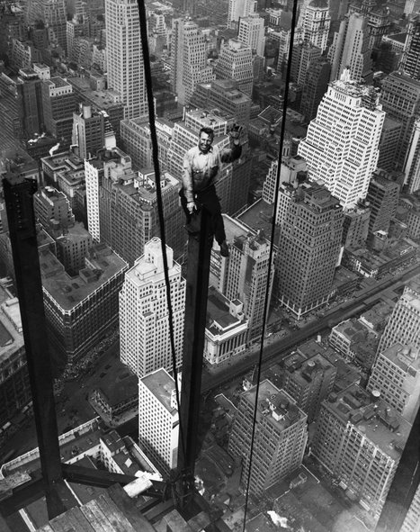Empire State Building daredevil photos will give you VERTIGO | The Architecture of the City | Scoop.it