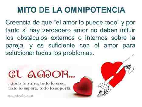MITO DE LA OMNIPOTENCIA | LOS MITOS DEL AMOR ROMÁNTICO | Scoop.it