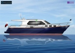 The new Aquastar 430 Aft Cockpit unveiled - Talking Long Range Yachts | Boat Industry & Economics | Scoop.it