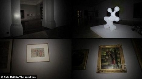 IL Y A 2 ANS...Des robots télécommandés permettront bientôt de visiter la Tate Britain de nuit | Clic France | Scoop.it