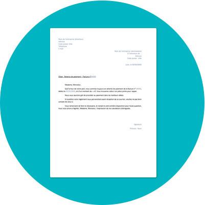 Modèle de lettre de relance de paiement | Outils gratuits pour entrepreneurs | Scoop.it