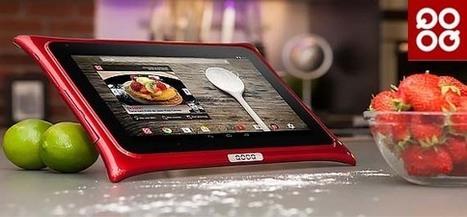 Tablette QOOQ V3 sous Android 4.4.2 avec 3000 recettes de cuisine | Actualité des Tablettes Android™ | Scoop.it