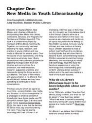 New Media in Youth Librarianship: Chapter One of the Little eLit Book | Publishing Digital Book Apps for Kids | Scoop.it