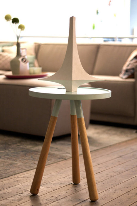 A Concrete Vase Inspired by Niemeyer's Palácio de Alvorada - Design Milk | Concrete.Network | Scoop.it