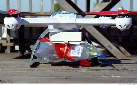 Meet QuiQui, the drug-delivering drone | Ecommerce logistics and start-ups | Scoop.it