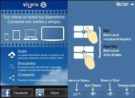ViLynx, solución para guardar y compartir los vídeos hechos desde el móvil | Las TIC y la Educación | Scoop.it