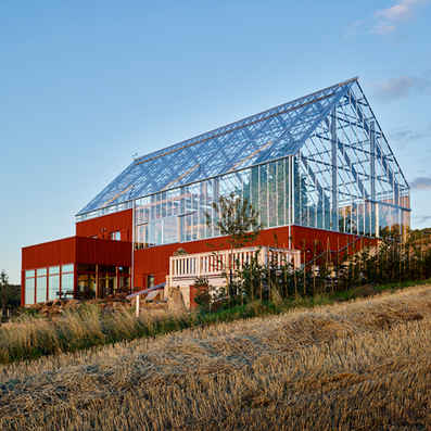 Tailor Made Arkitekter merge archetypal barn and glasshouse architecture for Swedish spa | Eureka | Scoop.it