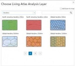 Creating thematic maps with hexagons in ArcGIS Online | ArcGIS Blog | ArcGIS Geography | Scoop.it