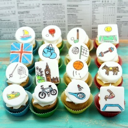 Olympics cupcake toppers featuring Big Ben, Union Jack and lots of | CupCake Blog | Scoop.it