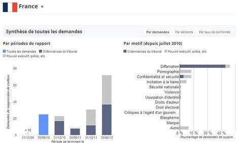 La France demande toujours plus de données privées à Google | Veille de Black Eco | Scoop.it