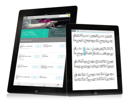 An app that keeps your scores | digital technologies in classical music & opera | Scoop.it