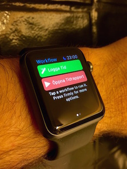 Time tracking with FileMaker and Apple Watch | FileMaker News | Scoop.it