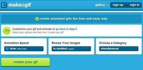 Make a Gif, aplicación gratuita para hacer gifs online   MediosSociales   Scoop.it