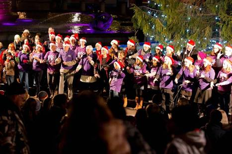 Deaf children's choir pulls out of Trafalgar Square carol service over row - Evening Standard   Children's Music Songs and Videos   Scoop.it