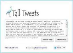 3 outils pour publier des tweets de plus de 140 caractères | Les outils de la veille | clefs à mon net | Scoop.it