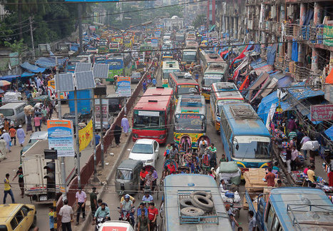 The Bangladeshi Traffic Jam That Never Ends | Sustain Our Earth | Scoop.it