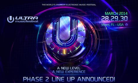 Ultra Musicfestival Miami 2014 - Lineup   Electro   Scoop.it