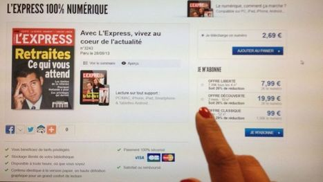 L'Express songe à rendre payant son site Internet | Communication Digital x Media | Scoop.it