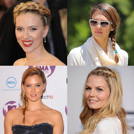 Marion Cotillard, Scarlett Johansson... : la tresse, encore et toujours ! | Coiffeurs : dernières tendances, bons plans et bonnes adresses | Scoop.it