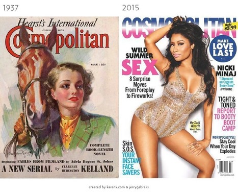 The Evolution of Magazine Covers | Media Studies | Scoop.it