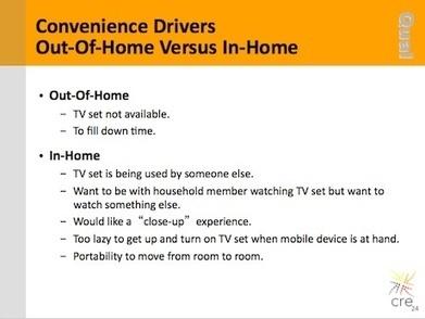 New mobile TV study shows changes in viewing habits | Poynter. | Big Media (En & Fr) | Scoop.it