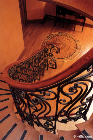 The design for a modern wrought iron railing | I go out to write a post and go back | Villi Zanini Wrought Iron | Scoop.it