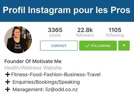 Instagram teste le profil Pro pour les entreprises | Etourisme & outils | Scoop.it