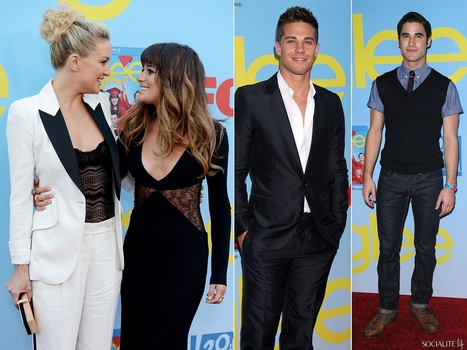 Lea Michele And Kate Hudson Bring Cleavage, Dean Geyer And Darren Criss Bring Hunkiness To 'Glee' Season Premiere Event [PHOTOS] | JIMIPARADISE! | Scoop.it