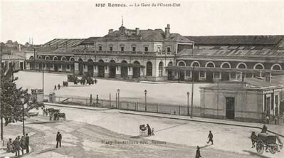 Impressionnant. Une vidéo de la gare de Rennes de 1870 à... 2020 - Rennes - Transports - ouest-france.fr | CULTURE NUMERIQUE | Scoop.it