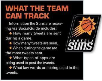Twitter TV Ratings to track Suns traffic - SportsBusiness Daily | SportsBusiness Journal | SportsBusiness Daily Global | Sports Management | Scoop.it