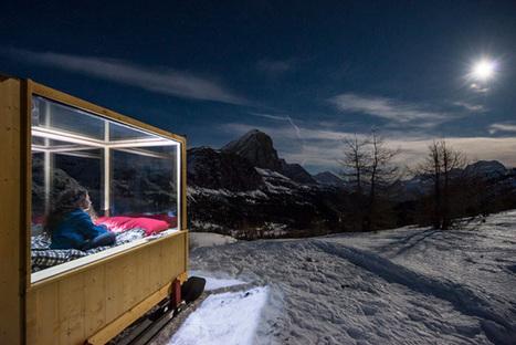 Starlight Room : dormez dans une cabine isolée en pleine montagne   Hébergements touristiques, design et innovation   Scoop.it