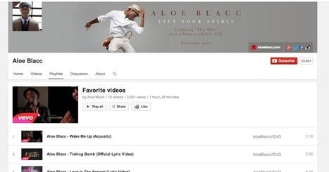 YouTube Creator Blog: More love for playlists and a new look for YouTube | social media news | Scoop.it
