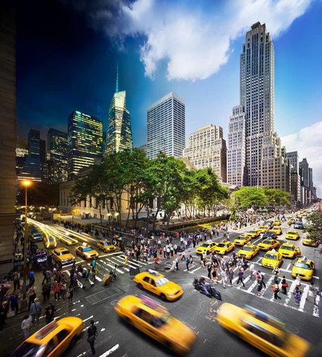 Le jour et la nuit capturés dans une même photographie à travers plusieurs villes du monde | clelia | Scoop.it