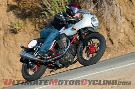 2013 Moto Guzzi V7 Racer Accessorized - Ultimate MotorCycling   News and Reviews   Moto Guzzi   Scoop.it