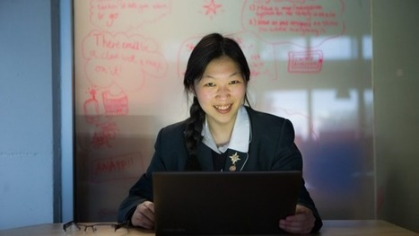 Female student makes history and heads to coding Olympics | Women of The Revolution | Scoop.it