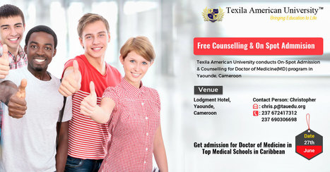 Doctor of Medicine Admission from Best Caribbean Medical School | Texila Health plus | Scoop.it