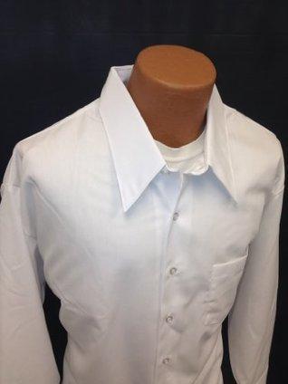 !@#   Shirt Mens Dress White Collared Long Sleeve Formal 20×34  White | Cheap Dress Shirts for Men | Scoop.it