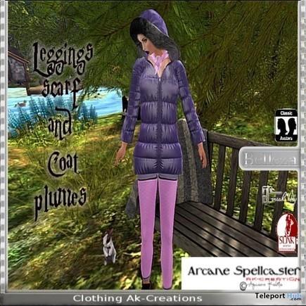Plumes Coat & Leggings Teleport Hub Group Gift by *Arcane Spellcaster* Ak-Creations   Secondlife freebies   Scoop.it