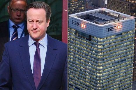HSBC threatens to leave the UK over David Cameron's European Union ... - mirror.co.uk | Camerons Disasters | Scoop.it