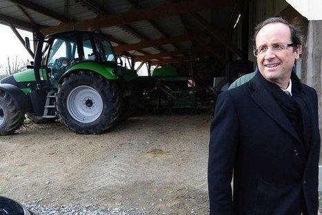 Hollande taclé par la FNSEA | Hollande 2012 | Scoop.it