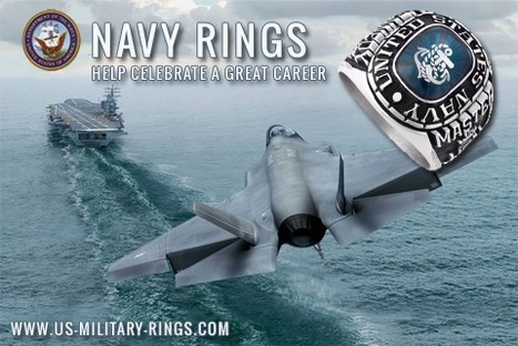 Navy Rings Symbolize a Sailor's service   Military Gifts   Scoop.it