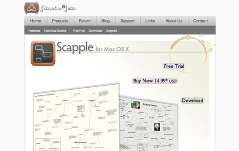 24 Essential Mind Mapping and Brainstorming Tools | Time to Learn | Scoop.it