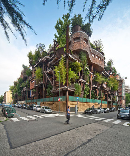 An Urban Treehouse That Absorbs Pollution | News | Archinect | Urban Choreography | Scoop.it