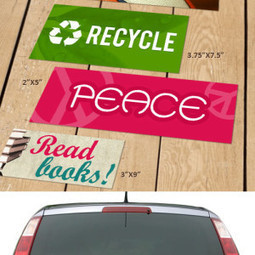 Bumper sticker and Brochure Printing: Make Anything You Want   sticker printing   Scoop.it