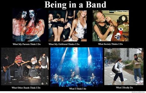 Being in a Band | What I really do | Scoop.it