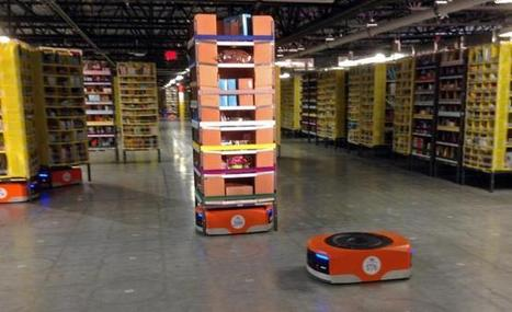 Amazon's new robot army is ready to ship - US News | Heron | Scoop.it