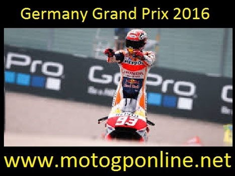 Watch Grand Prix Of Germany Live streaming 15 to 17 July 2016 | sports | Scoop.it